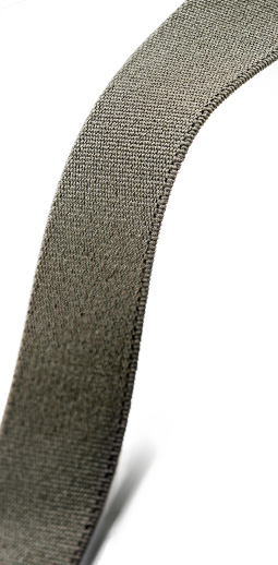 Woven elastic Tape, olive, 25 mm